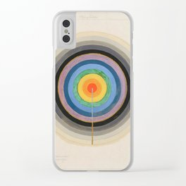 "Hilma af Klint ""Series VIII. Picture of the Starting Point (1920)"" Clear iPhone Case"
