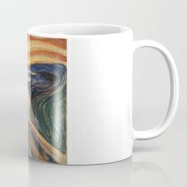 The Scream, Edvard Munch, classic painting Coffee Mug