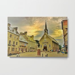 Old Quebec Metal Print