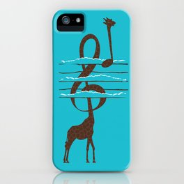 High Note iPhone Case