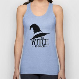 The Witch is Back Unisex Tank Top