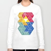 triforce Long Sleeve T-shirts featuring Triforce items !!! by Adrian Filmore