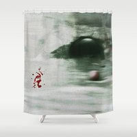 golf Shower Curtains featuring Golf by Mr and Mrs Quirynen