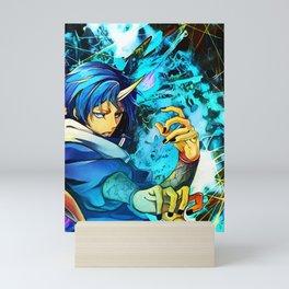 Colorful Master of dark Mini Art Print