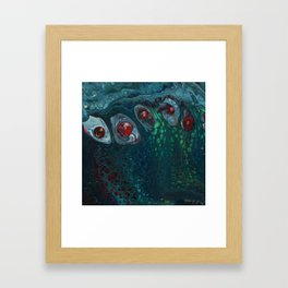 Channeling Cthulhu Framed Art Print