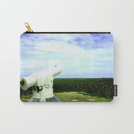 Waiting  - Original Photographic Art Print Carry-All Pouch