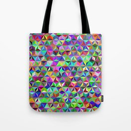 Triangles (Pattern) Tote Bag