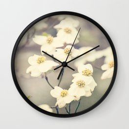 Signs of Spring Wall Clock