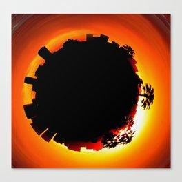 Tiny Planet Canvas Print