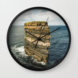 Dun Briste Wall Clock
