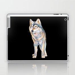 Timber Wolf Laptop & iPad Skin