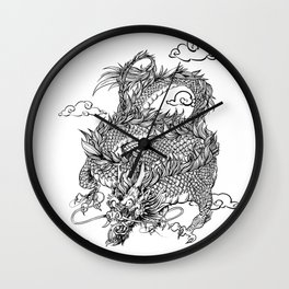 Padre's Dragon Wall Clock