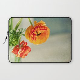 Orange you beautiful Ranculus? Laptop Sleeve