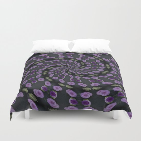 Purple Swirl Duvet Cover