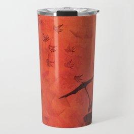 stencil ballerina Travel Mug