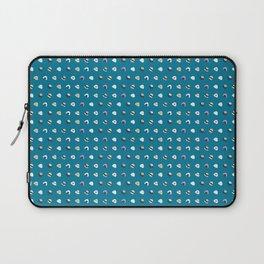 onigiri pattern in navy Laptop Sleeve