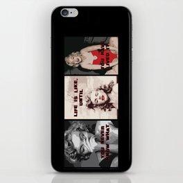 A Tribute to Marilyn Monroe iPhone Skin