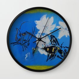 Chipper and the Bee Wall Clock