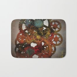 Industrial Rust Bath Mat