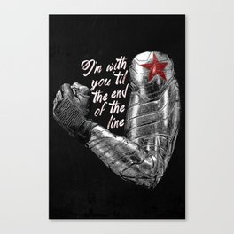 'Til the End of the Line Canvas Print