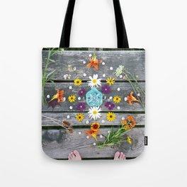 Dock Mandalla Tote Bag