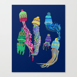 Cool Jellyfish 2 Canvas Print