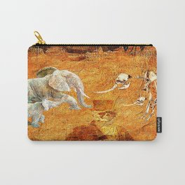 Marcel to elephant's graveyard Carry-All Pouch