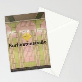 Berlin U-Bahn Memories - Kurfürstenstraße Stationery Cards