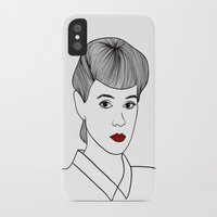 blade runner iPhone & iPod Cases featuring Rachael. Blade Runner by Whiteland