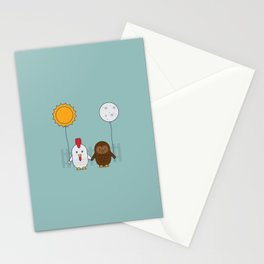 Early Bird & Night Owl Stationery Cards