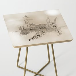 Shell Back Side Table