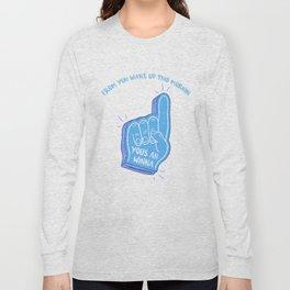Blue Winna Long Sleeve T-shirt