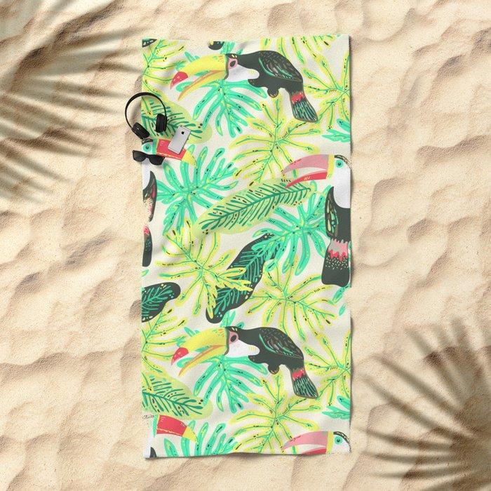 Tucanos Beach Towel