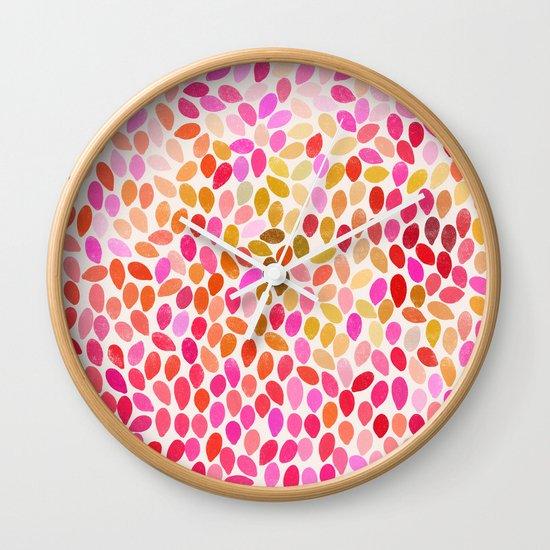 rain 10 Wall Clock