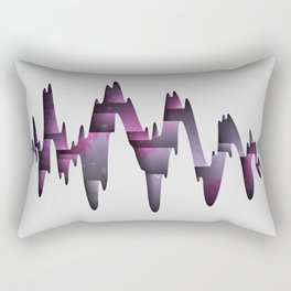 Tectonic Wormhole Rectangular Pillow