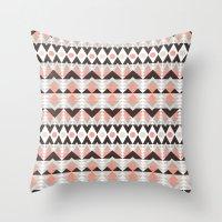 southwest Throw Pillows featuring southwest by kociara