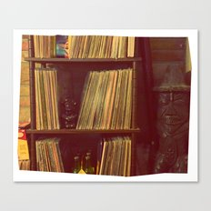 Vinyl Corner Canvas Print