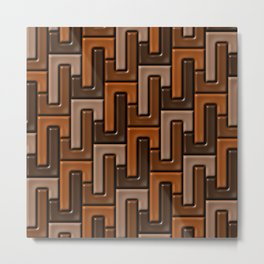 Geometrix 155 Metal Print