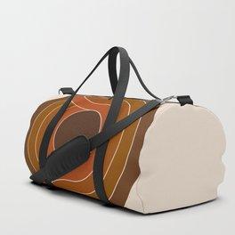Cocoa Chain Duffle Bag