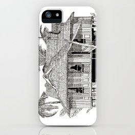 Rumah Kampung (Large) iPhone Case