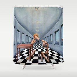 Ennui Shower Curtain