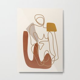 Abstract Art 20 Metal Print