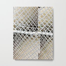 all Fenced in Metal Print