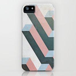 Linear Geometry iPhone Case