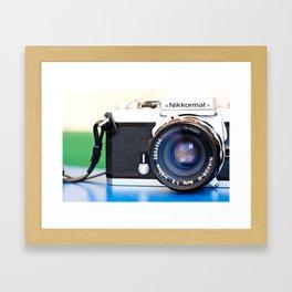 nikkormat ft2 Framed Art Print