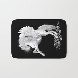 The Pegasus ..  StarFire .. fantasy horse Bath Mat