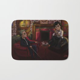 Holmes and Watson Bath Mat