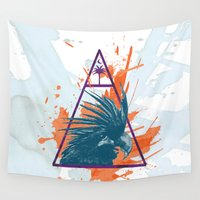 island Wall Tapestries featuring Island by Last Call