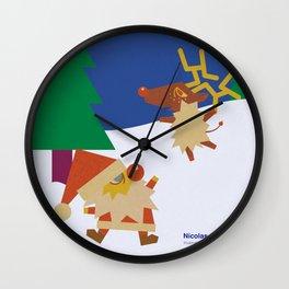 Nicolas&Rudolph Wall Clock
