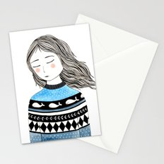 Sweater weather! Stationery Cards